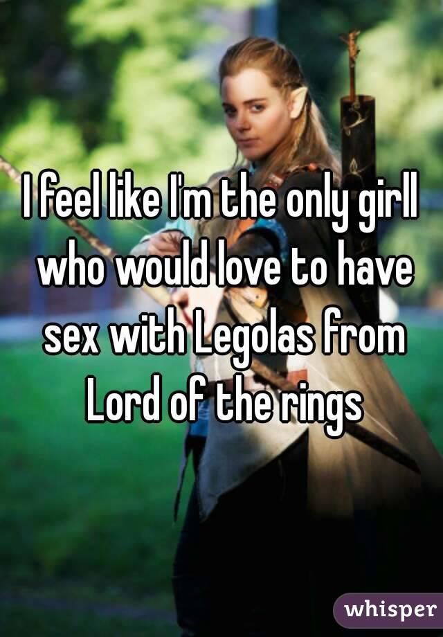 Леголас и секса