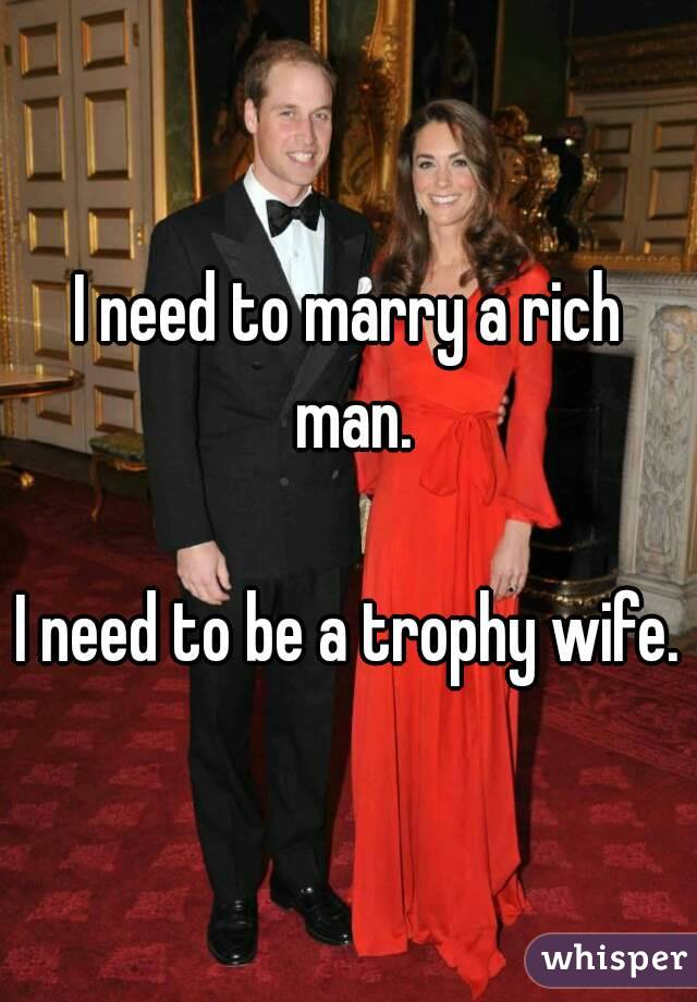 How to marry a rich man