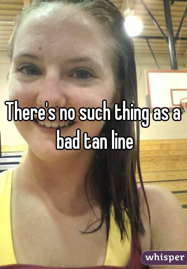 tan line selfie