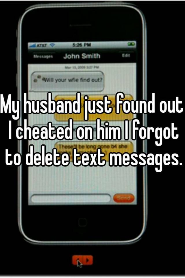 Is Text Husband Messages Deleting My