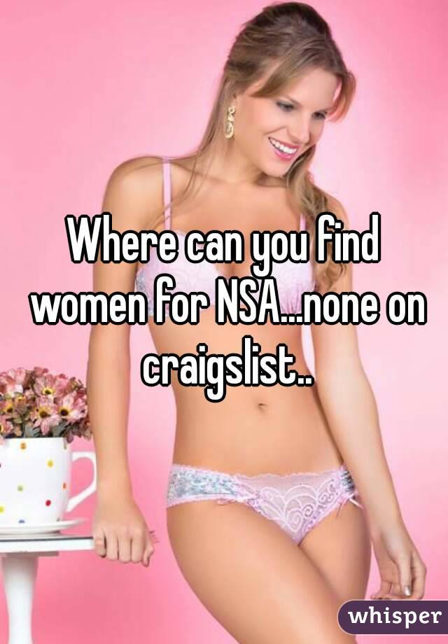 What is nsa craigslist