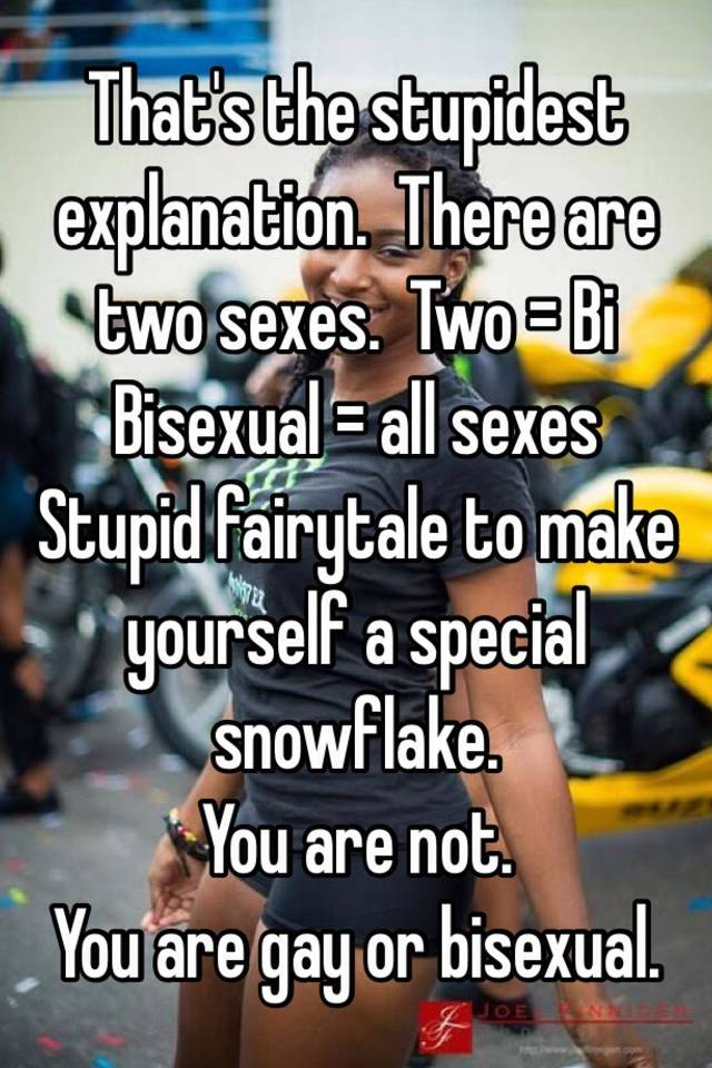 Explanation of bisexual