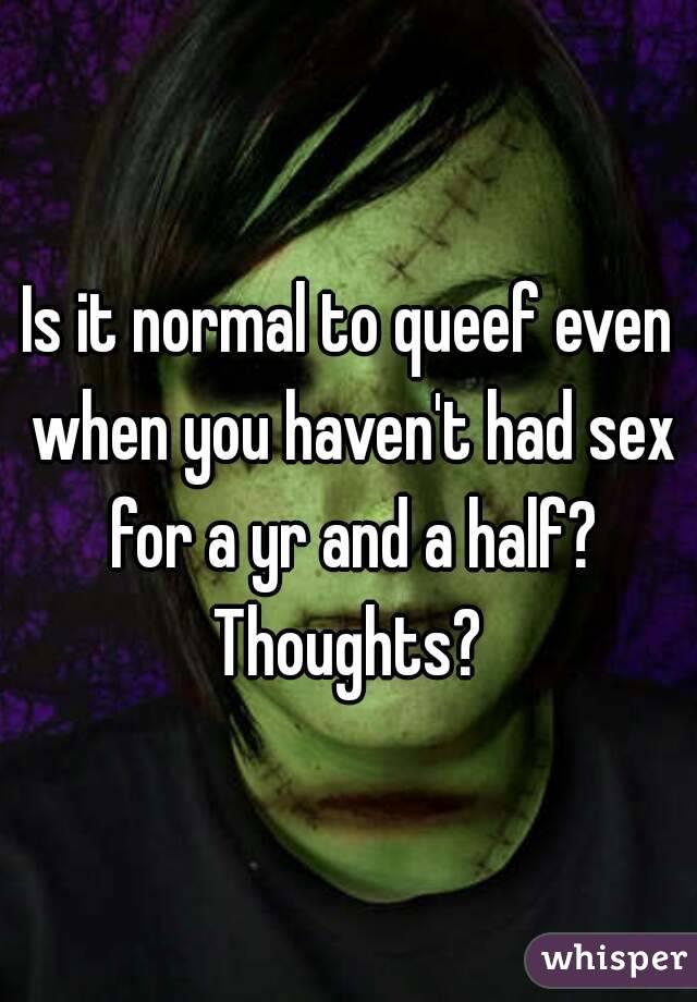 Queefs normal