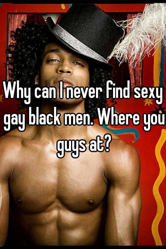 sexy gay black men