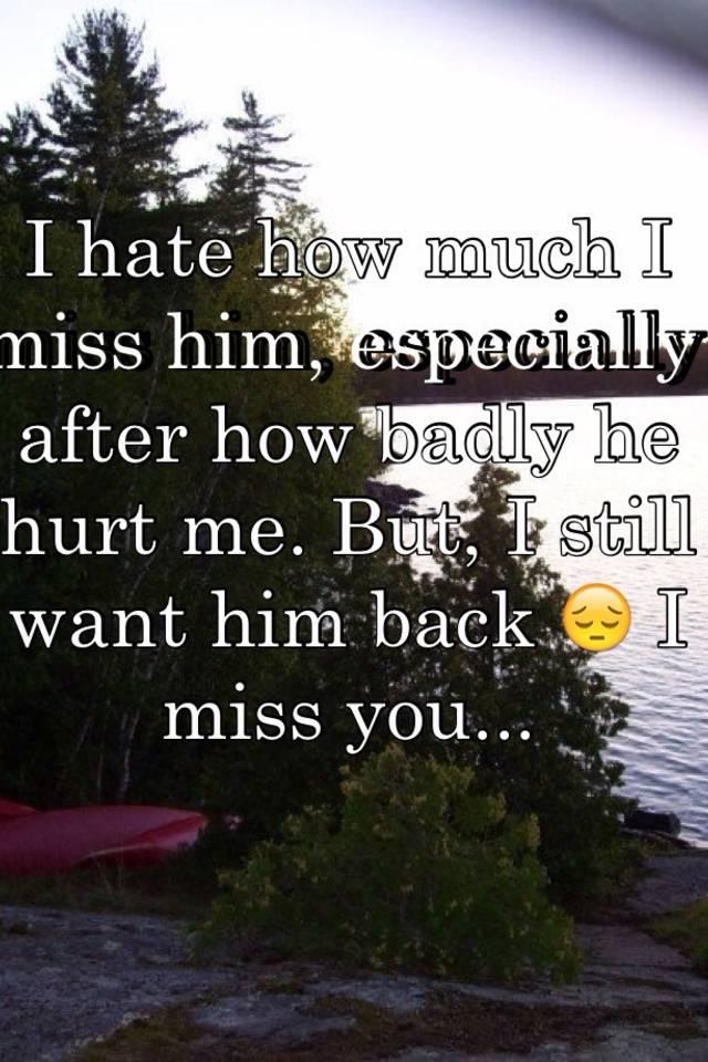 Should i take him back after he hurt me