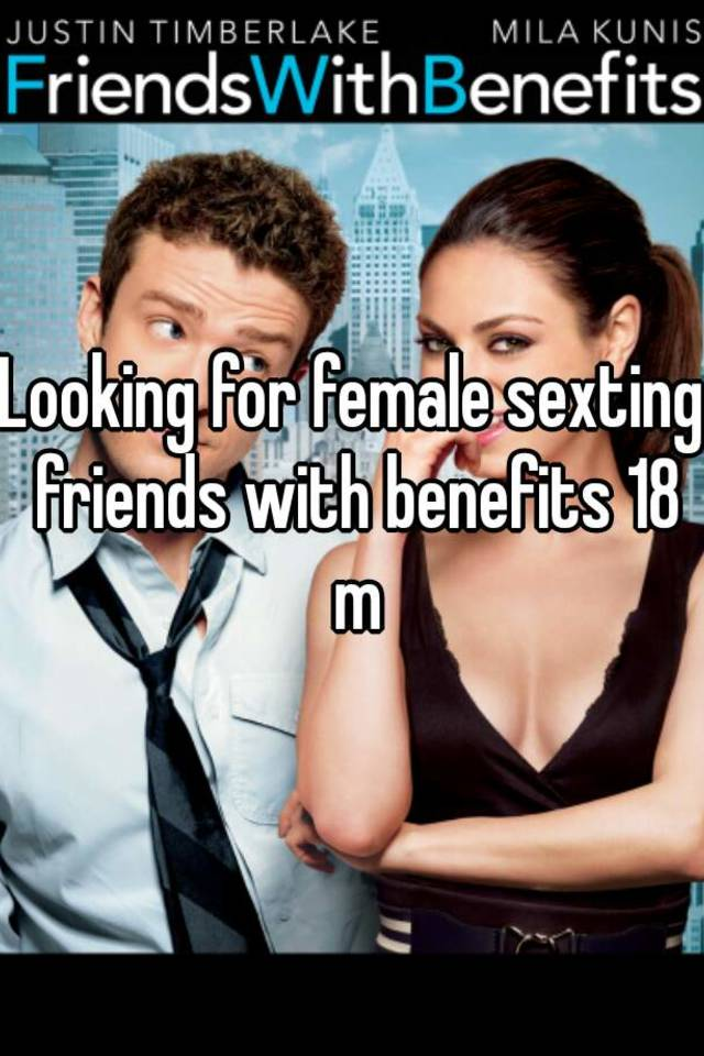 sexting friends with benefits