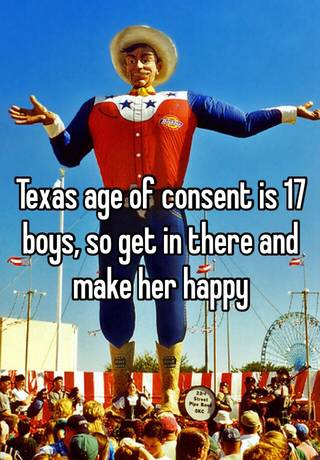 What Is The Legal Dating Age In Texas