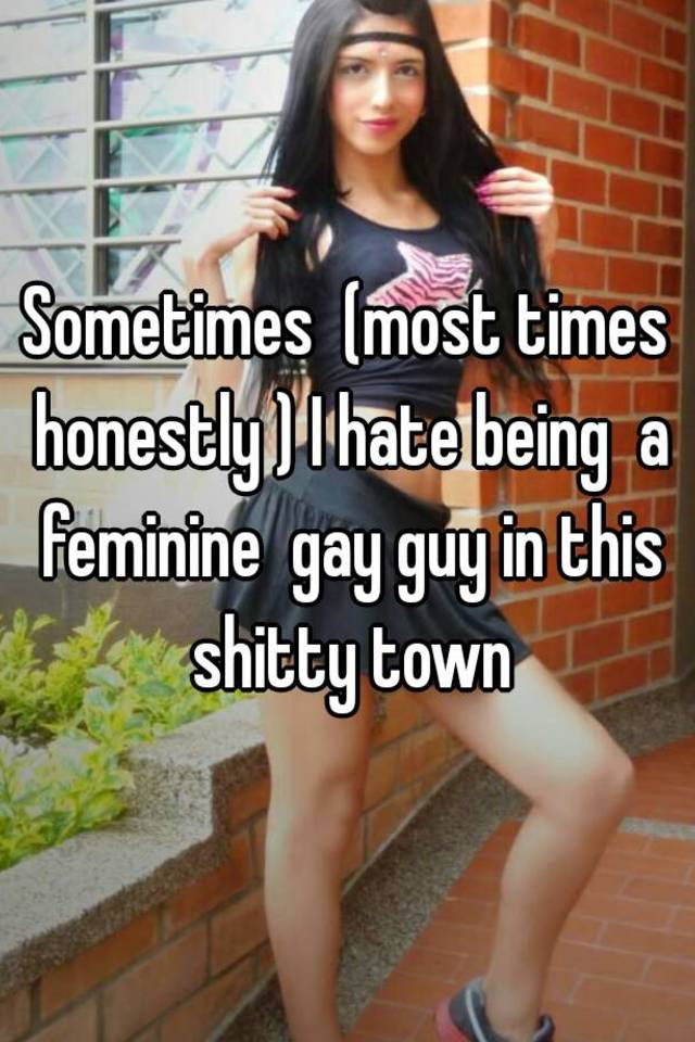 Feminine gay boys