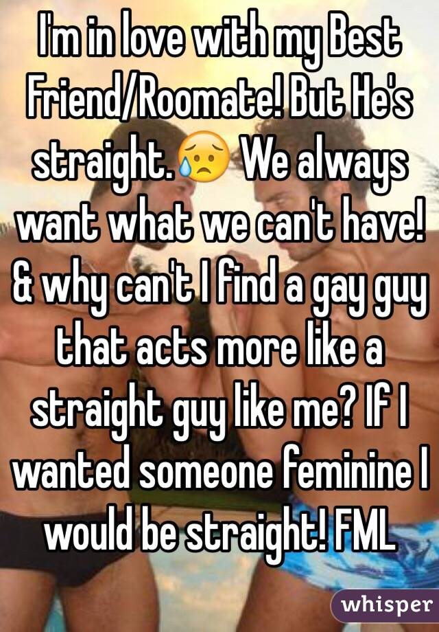 Straight Guy In Love With Gay Best Friend