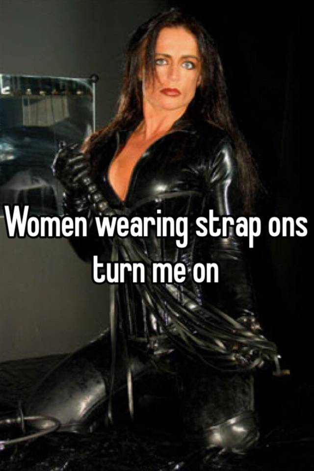 Pictures of women wearing strapons