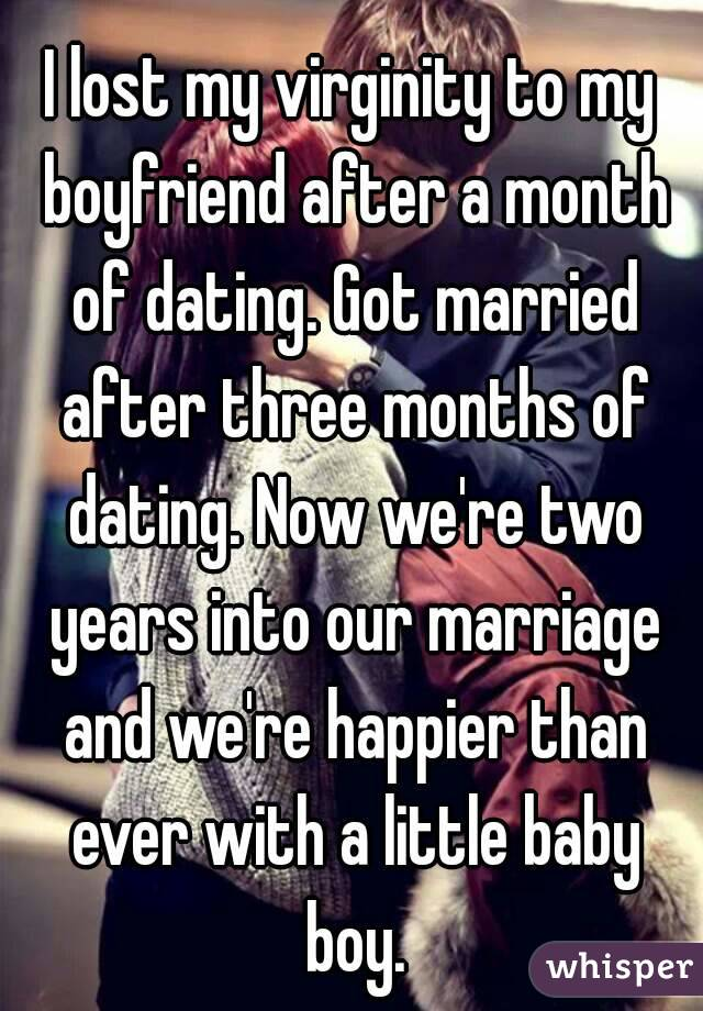 Should After Months Two Happen Dating What Of big benefit the