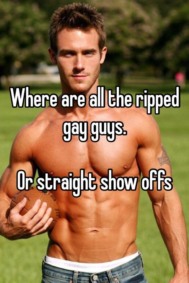 Ripped gay guys