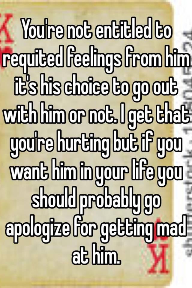 Requited feelings