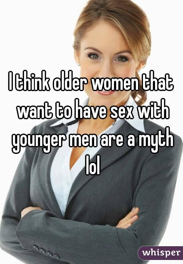 Make older woman want sex