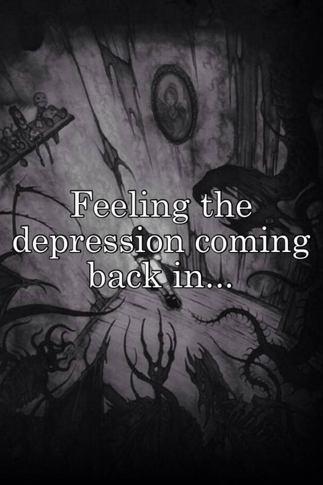 Does depression come back