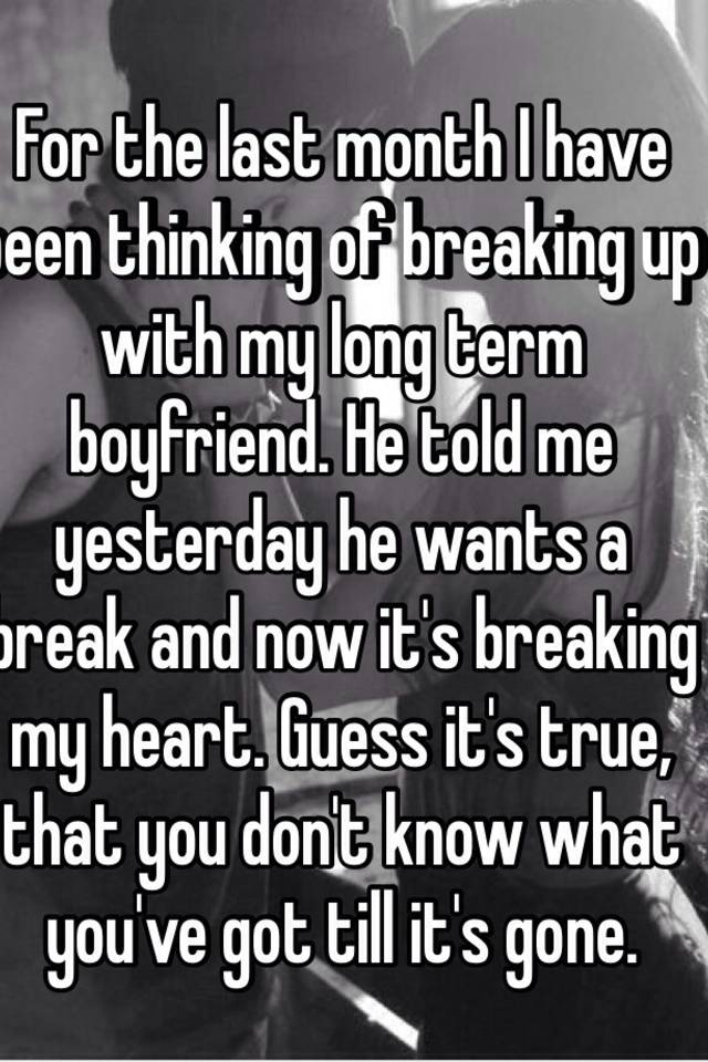 Signs A Guy Wants To Break Up