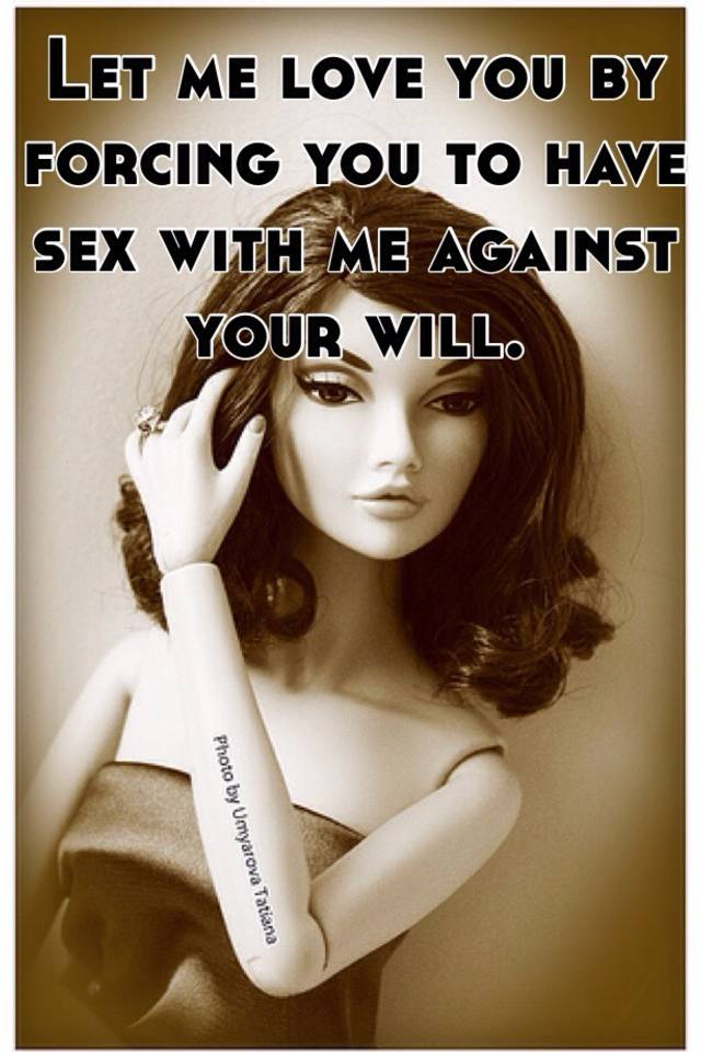 your Having will against sex