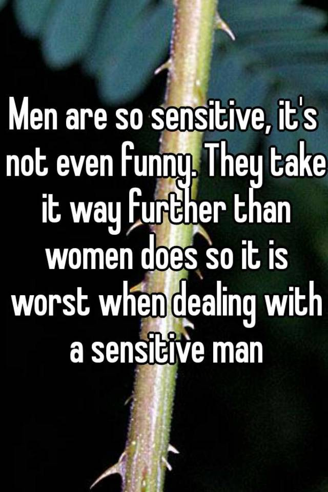 how not to be so sensitive