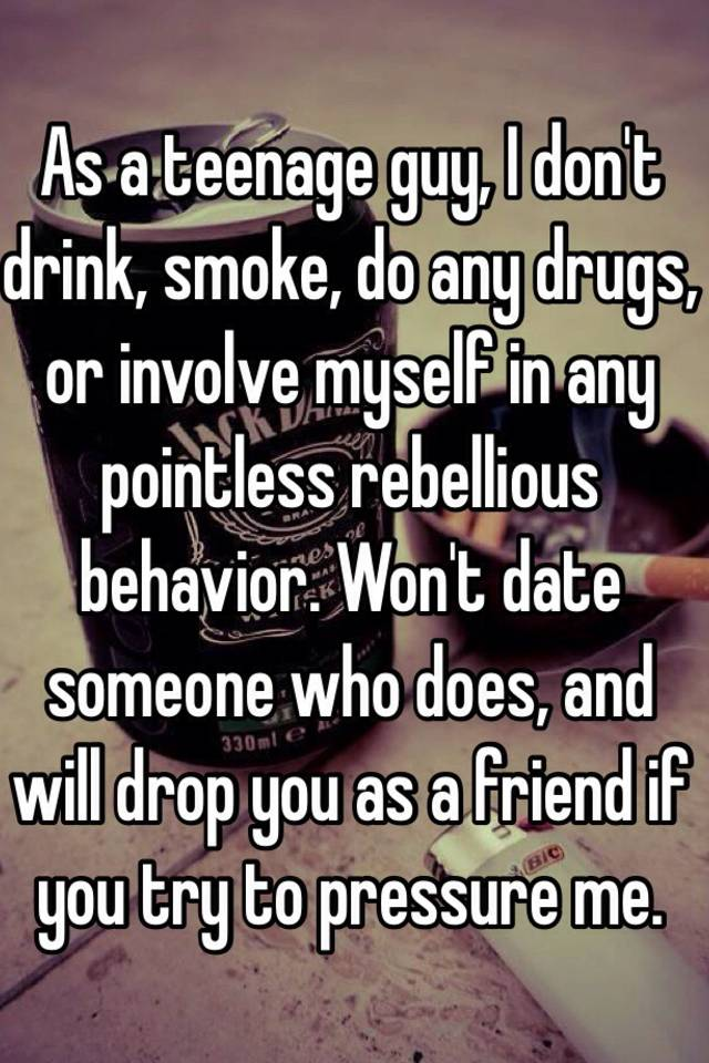 Dating someone who did drugs