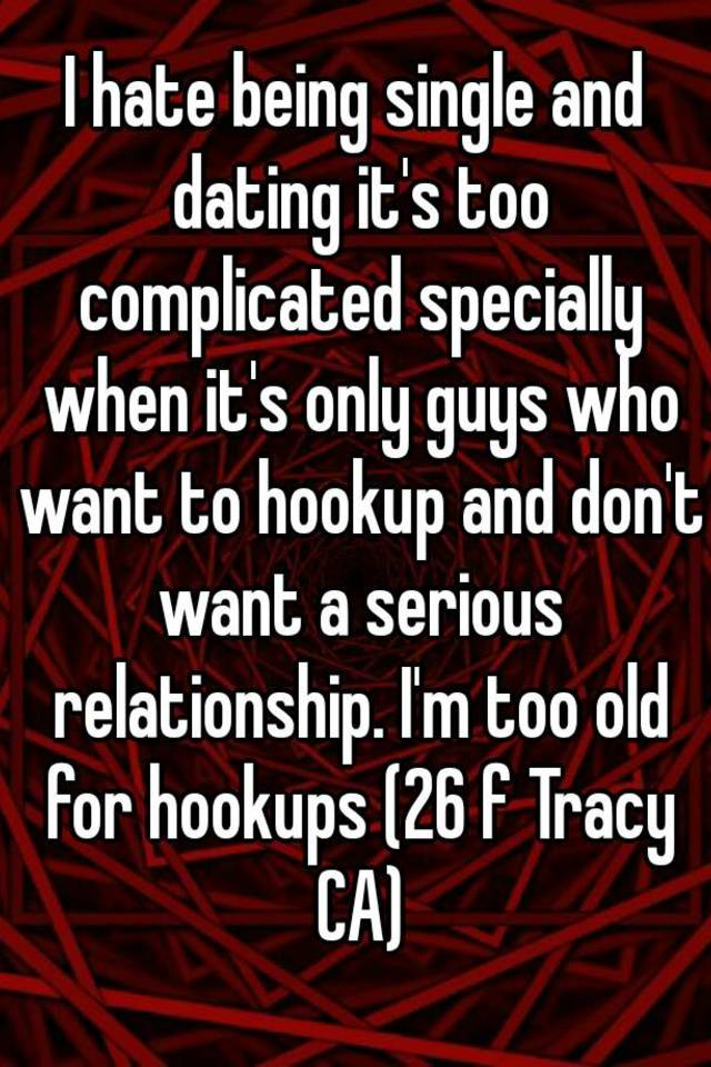How old is too old when hookup