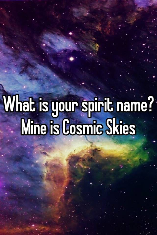 Your Spirit Is Mine