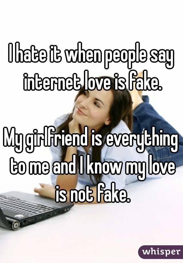 Find My Girlfriend On The Internet