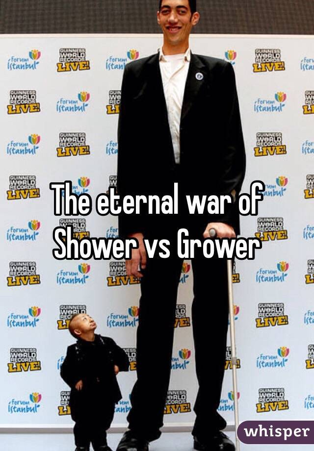 Shower vs grower pictures