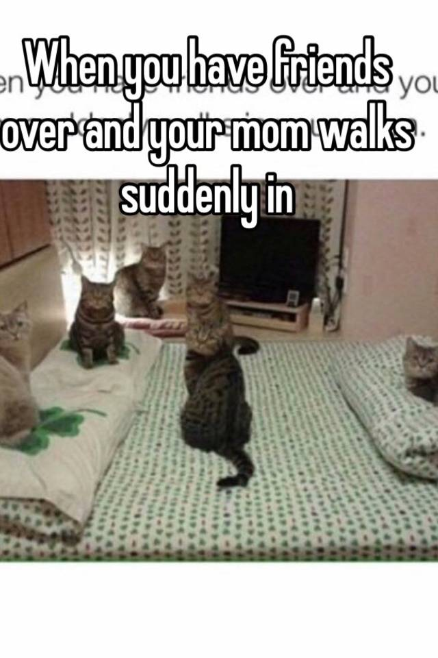 On you to your walks do what mom in when What to