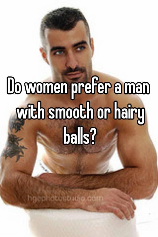 Do women like hairy balls
