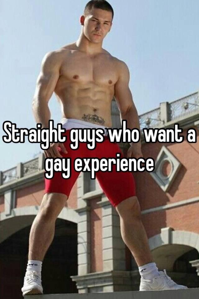 Straight Men Gay Experience