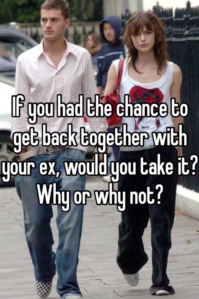 Chances of getting back with your ex