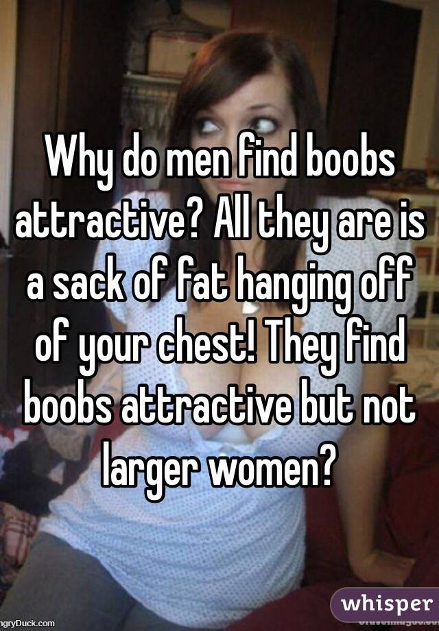 why are boobs attractive