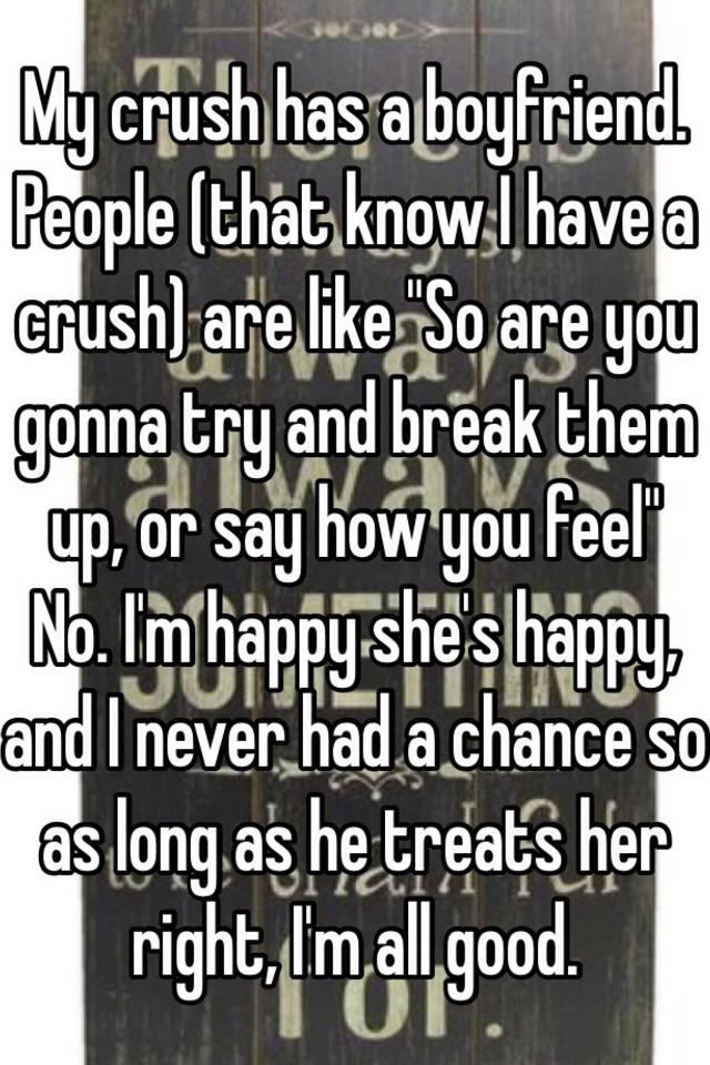 my crush has a boyfriend