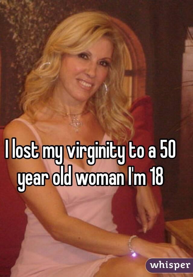 Old woman losing virginity