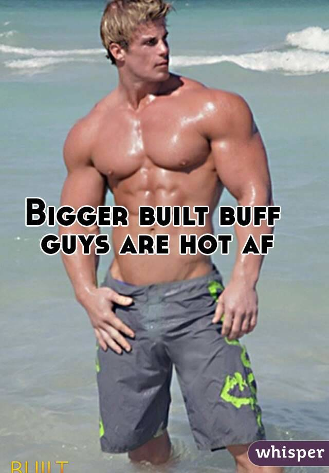 Hot buff boys