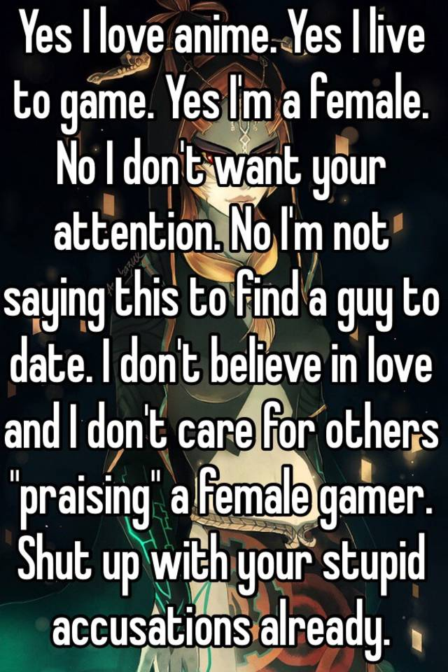 i want to date a gamer girl