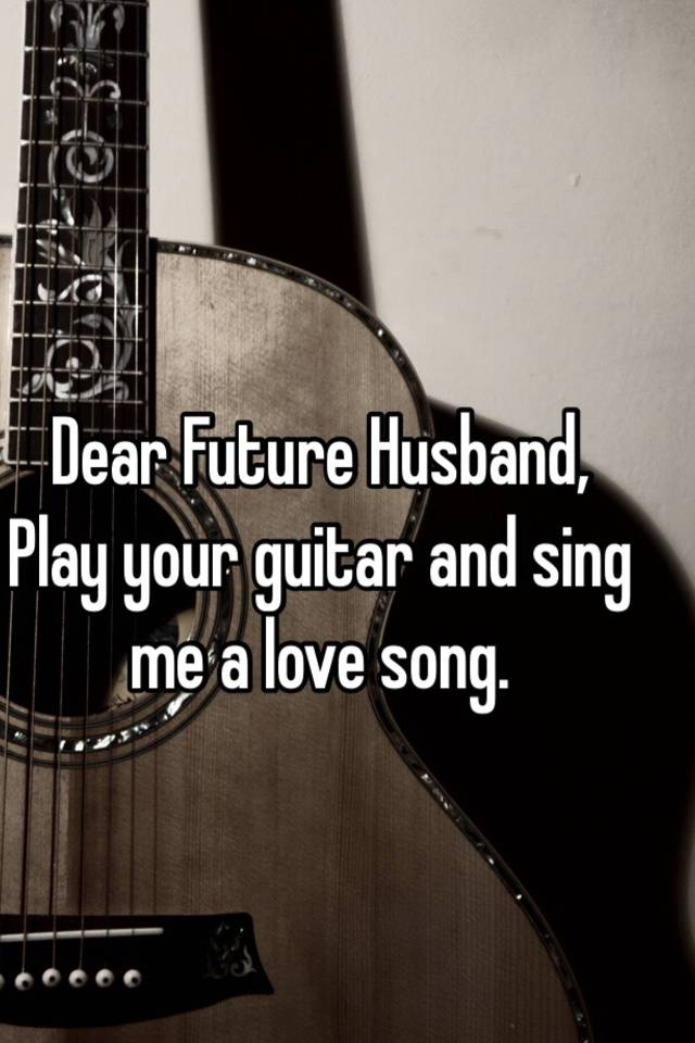 sing love song for me
