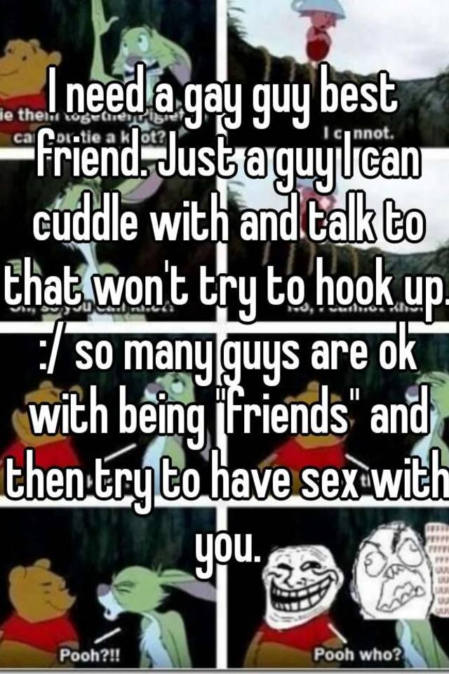 Gay guy best friend sex