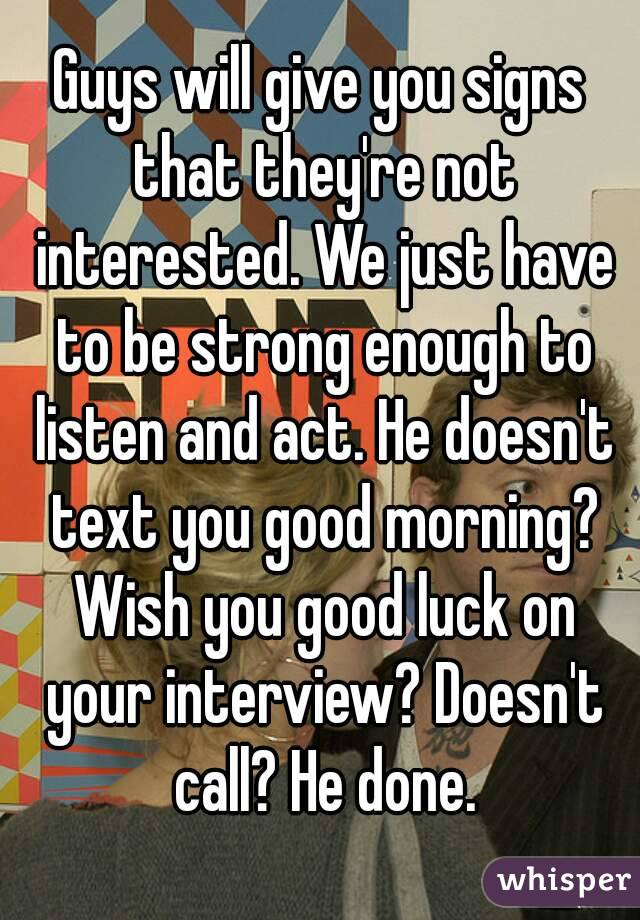 Sign he is interested in you