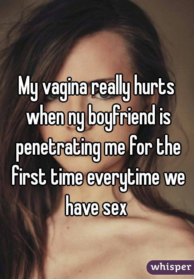 When i think of sex i hurt