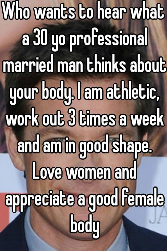 What man likes in female body