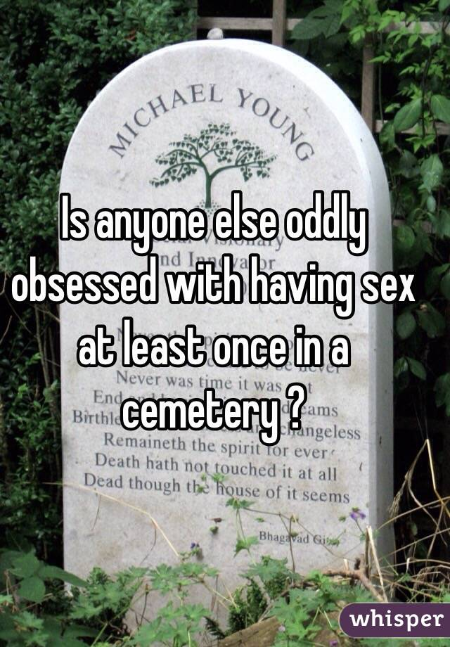 Sex at cemetary