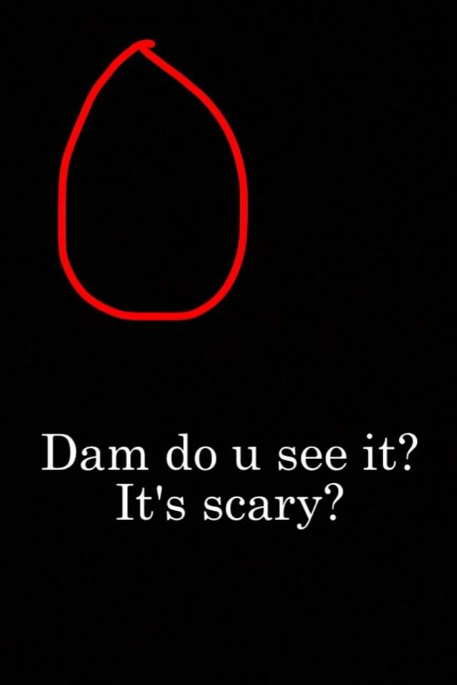 when u see it pictures scary