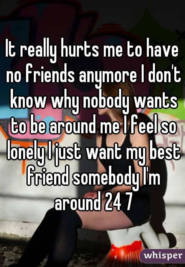 Lonely Gets Me Nobody So I Feel