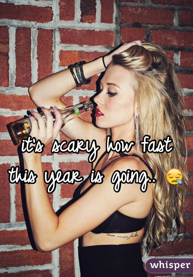 it's scary how fast this year is going.. 😪