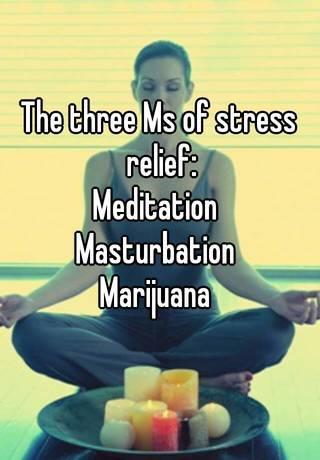 marijuana and masturbation