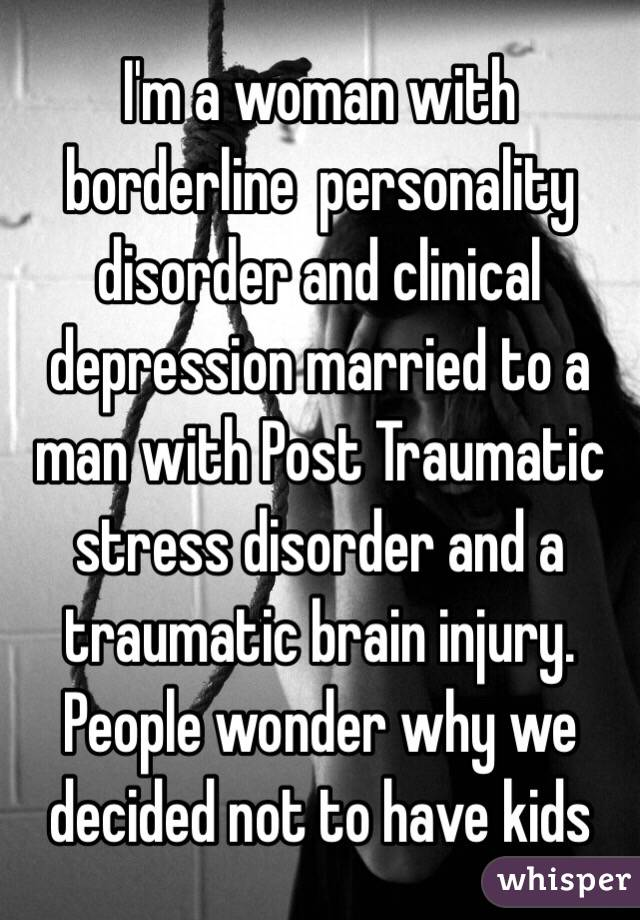 Married To A Borderline Personality Disorder Wife