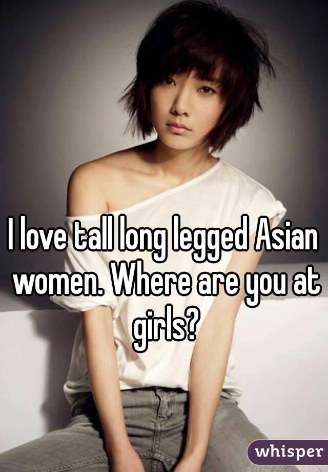 Long Legged Asian Women