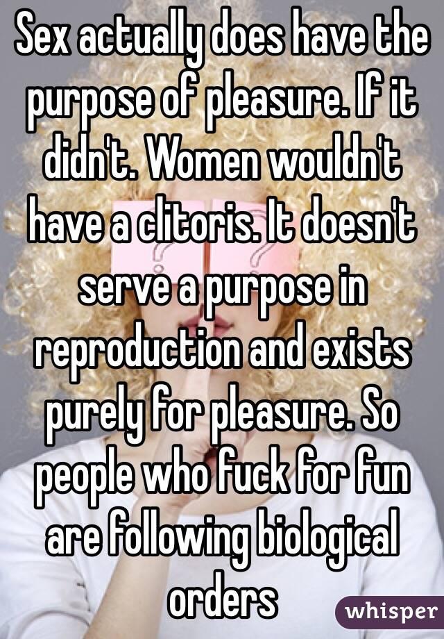 Women who fuck for fun
