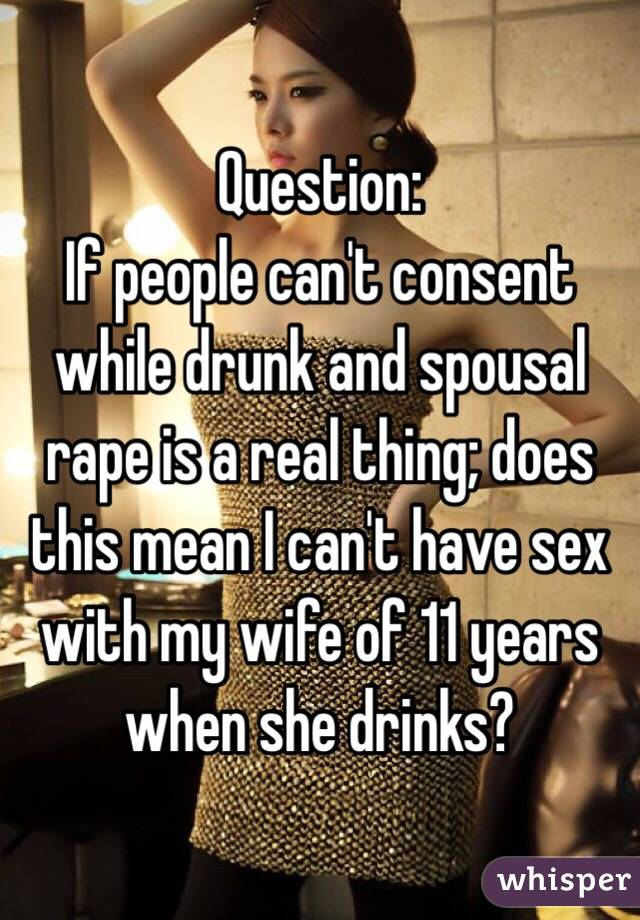 Drunk People Have Sex
